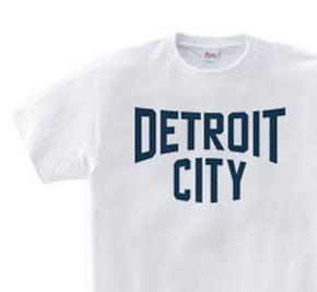 デトロイト CITY 150.160(女性M.L) Tシャツ【受注生産品】