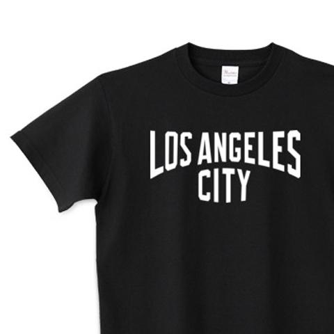 【再販】ロサンジェルス CITY  150.160.(女性M.L) S〜XL Tシャツ【受注生産品】