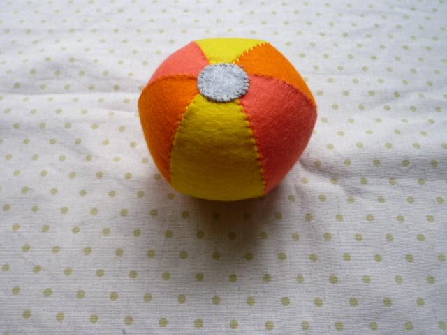 ボール(黄系)