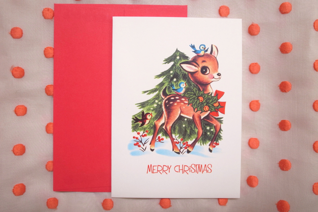 24 Pack Square Christmas Cards 9 x 9cm