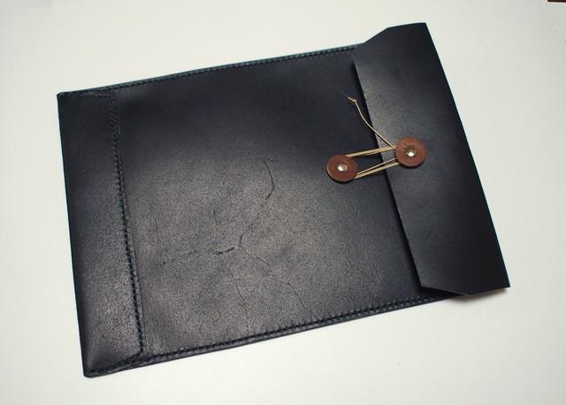 【ちさこ様ご注文品】トスカーナ床革のマニラ封筒