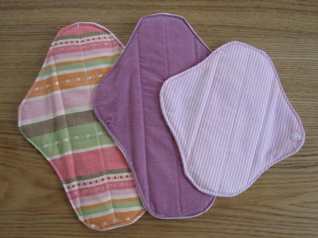 布ナプキン ピンク系 3枚セット