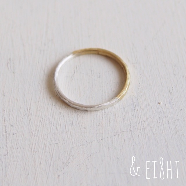 【再販】 Bi-colored Ring