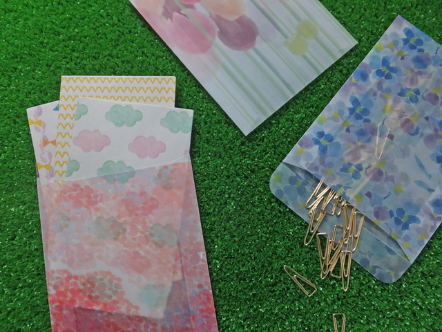 photo envelope【 flowermagic 】