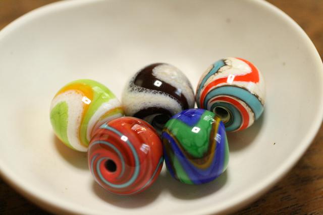 ���ĥ��åȡ�glass beads �ʤȤ�̡ܶ�ή�棲