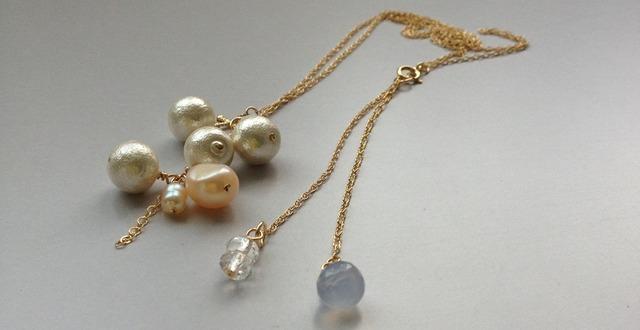 14kgf Treasure Chest ♭1 necklace