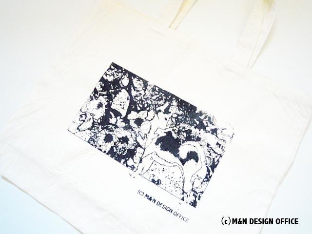 M&Nデザインオフィス オリジナルエコバッグ生成(柴犬と桜)