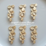import charm flower 38mm✕16mm 6pcs