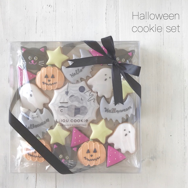 mini mini Halloween cookie☆
