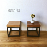 【送料無料】iron mini  stool