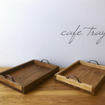 wood cafe tray(M)