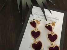 corduroy  triple heart pierce【5】