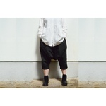 SARROUEL PANTS BLACK【S~M】(COTTON BROAD)