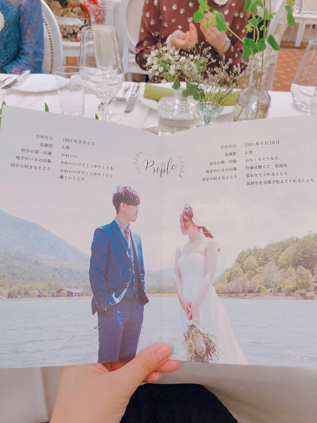 小冊子席次表 simple wedding reseption ハンドメイドマーケット minne