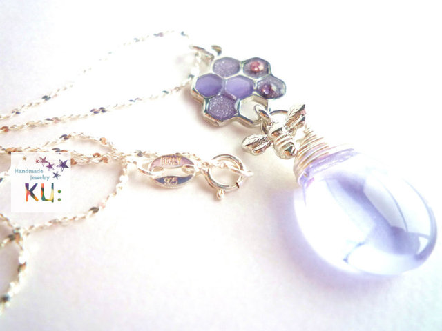 ?SV925?Moonlight Honey Necklace