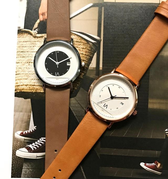 5f1696bdac 共に時を刻むペアウォッチ~レザー 腕時計 メンズ レディース ペアウォッチ