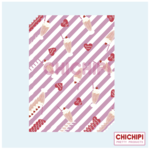 STRAWBERRY SHAKE WRAPPING PAPER