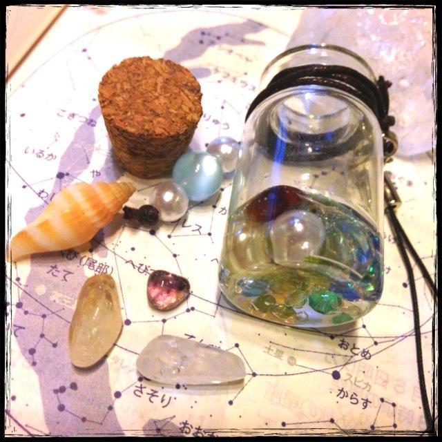 鉱物標本瓶【α】