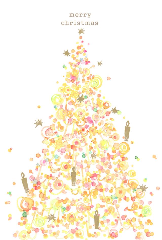 クリスマスツリーイラストy様ご注文分