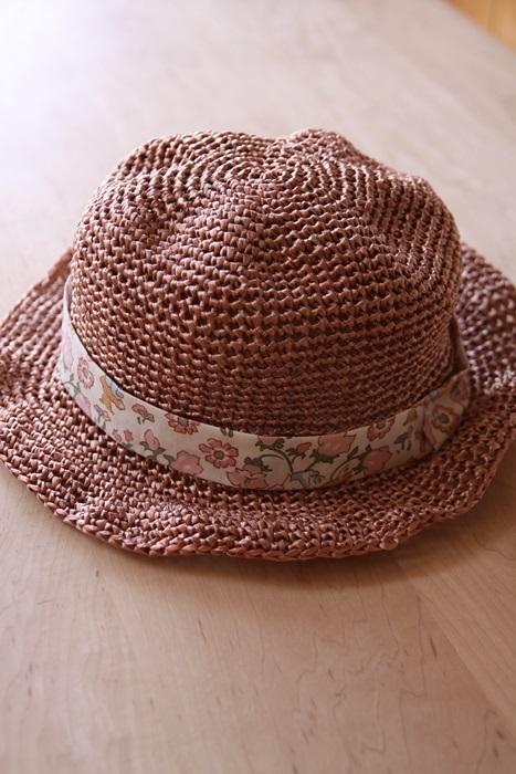 なつのコドモ帽子 for Kid's L  シャイニーピンク