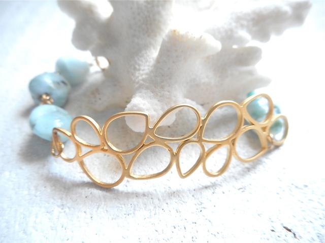 海の泡とラリマーのブレス