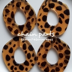 柄変更あり【4pcs】chain parts 52mm✕46mm