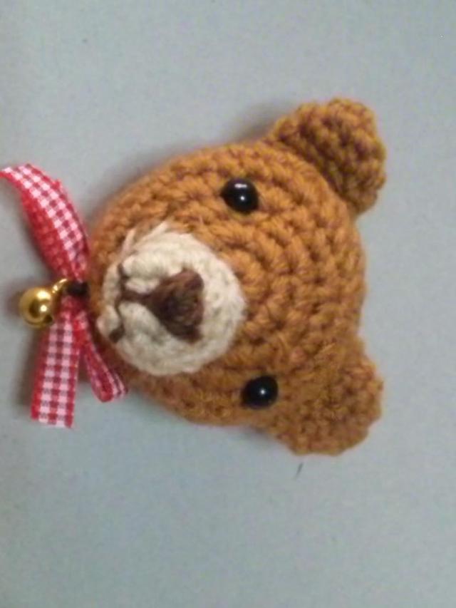 クマ編み マグネット