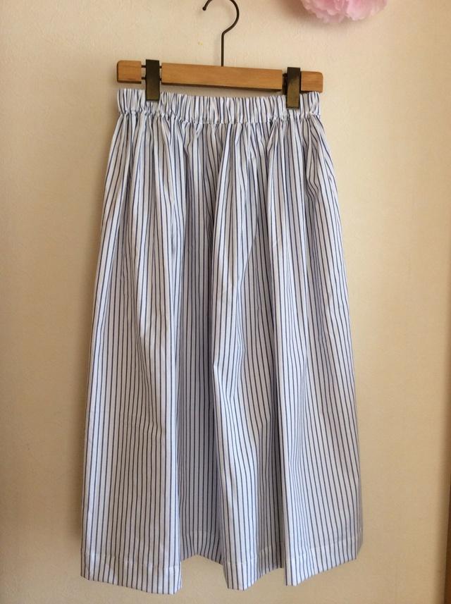 春夏 シンプルロングスカート for women シマシマ