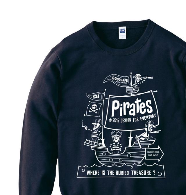 【再販】海賊船 トレーナー【受注生産品】