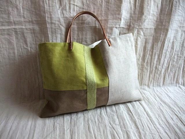 itoiro tote bag (kimidori)