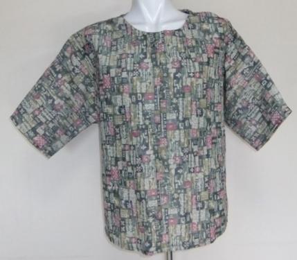 夏の着物で作ったプルオーバー 148
