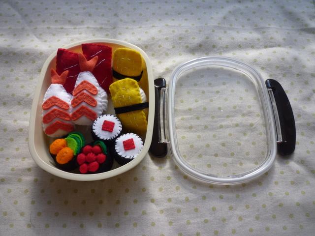 <受注製作>お寿司のお弁当