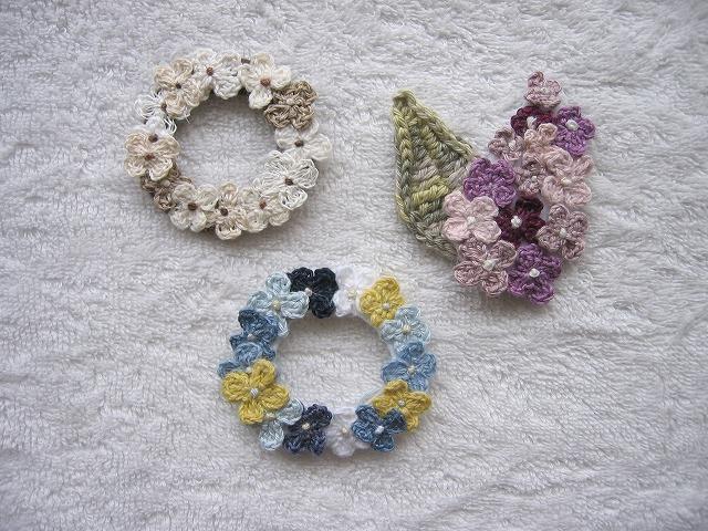 ��tagatarou ���ޥꥯ�������ʡ�Flower wreath&Lilac �֥?��3�����å�