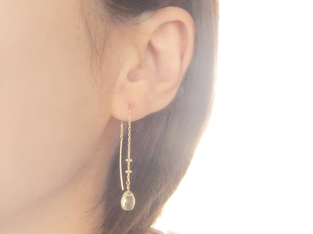K10 Dew Drop Earrings YL