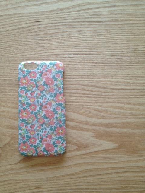 リバティ iphone6 6sケース(ベッツィアン ピンク)