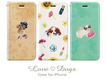 「Love♡Dogs」iPhoneケース