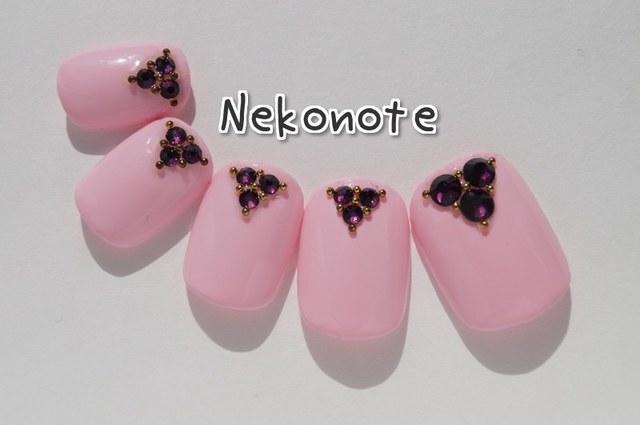 ふんわり桜色 ネイルチップ