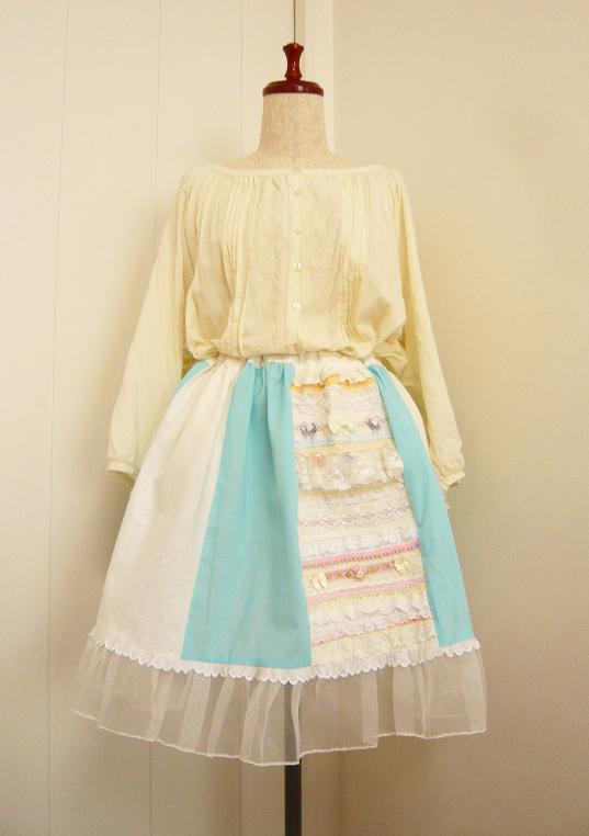 人魚姫のトリコロールスカート