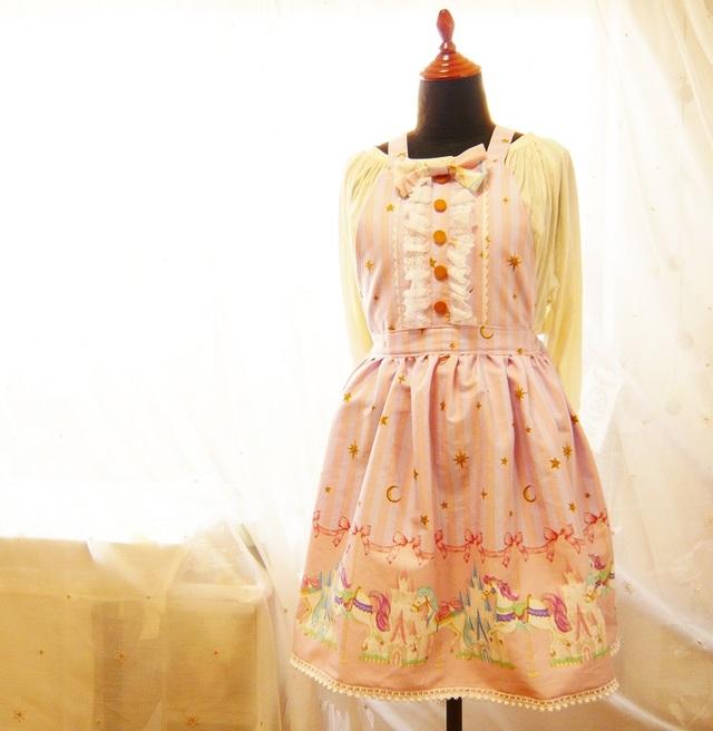 【SAIL】メリーゴーランドロリータサロペットスカート【¥8,200→¥6,900】