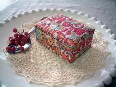 リバティJenny'sRibbonsPK布箱Sサイズ
