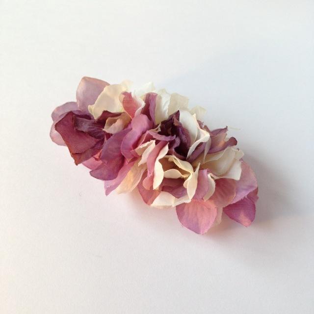 紫陽花バレッタ