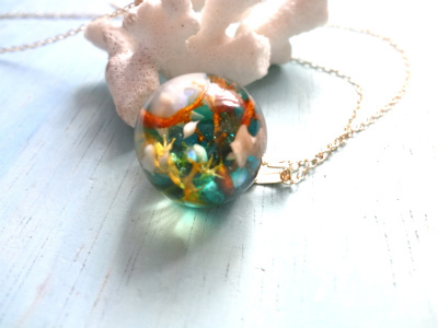 Seascape Necklace y