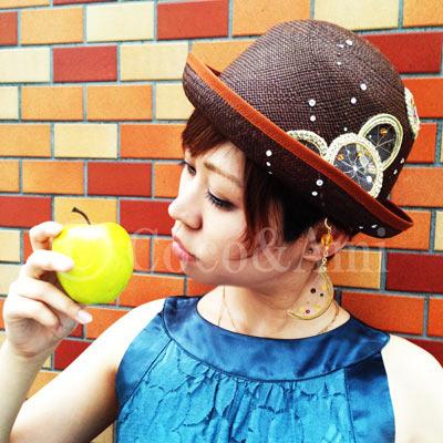 夏バテ帽子に癒さレモン☆