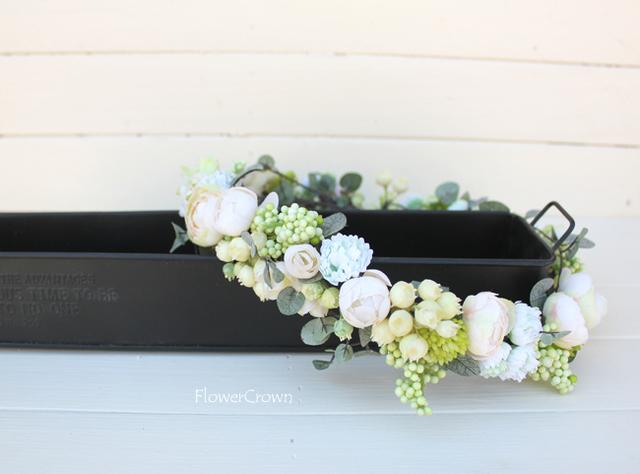 花かんむり +ホワイト+ #25#