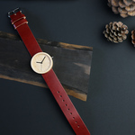 Maple × Organic Swedish Leather (RED) - 32