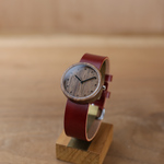 Walnut × Organic Swedish Leather (RED) - 32