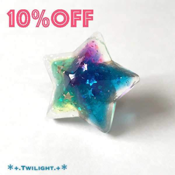 【10%OFF】「*+.Space jewelry+*」ピンブローチver01
