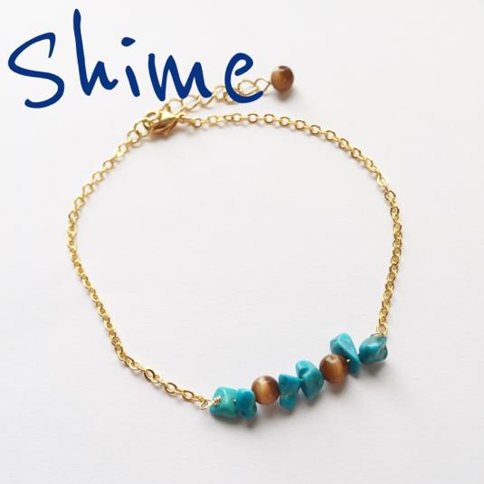 stone bracelet【turquoise】