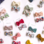 Christmas Collection  Liberty Ribbon Clip set *baby&kids