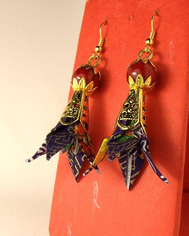 オリガミピアス華・菖蒲(Iris 05I3CDr)